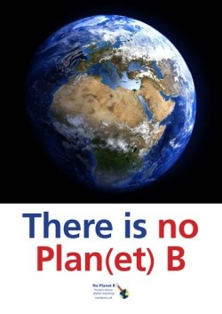 No Planet B posters and quiz image
