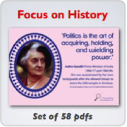 Focus on History  PDF Posters & Powerpoint image
